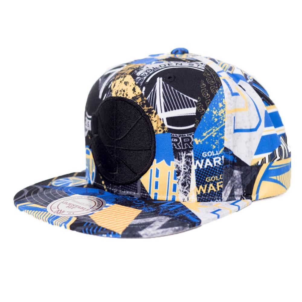 NBA ゴールデンステイト・ウォリアーズ キャップ/帽子 ハードウッドクラシック Mitchell & Ness ロイヤル