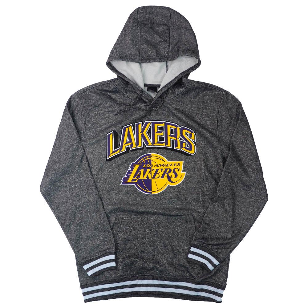 NBA レイカーズ パーカー/フーディー Focused Pullover Fleece UNK グレー