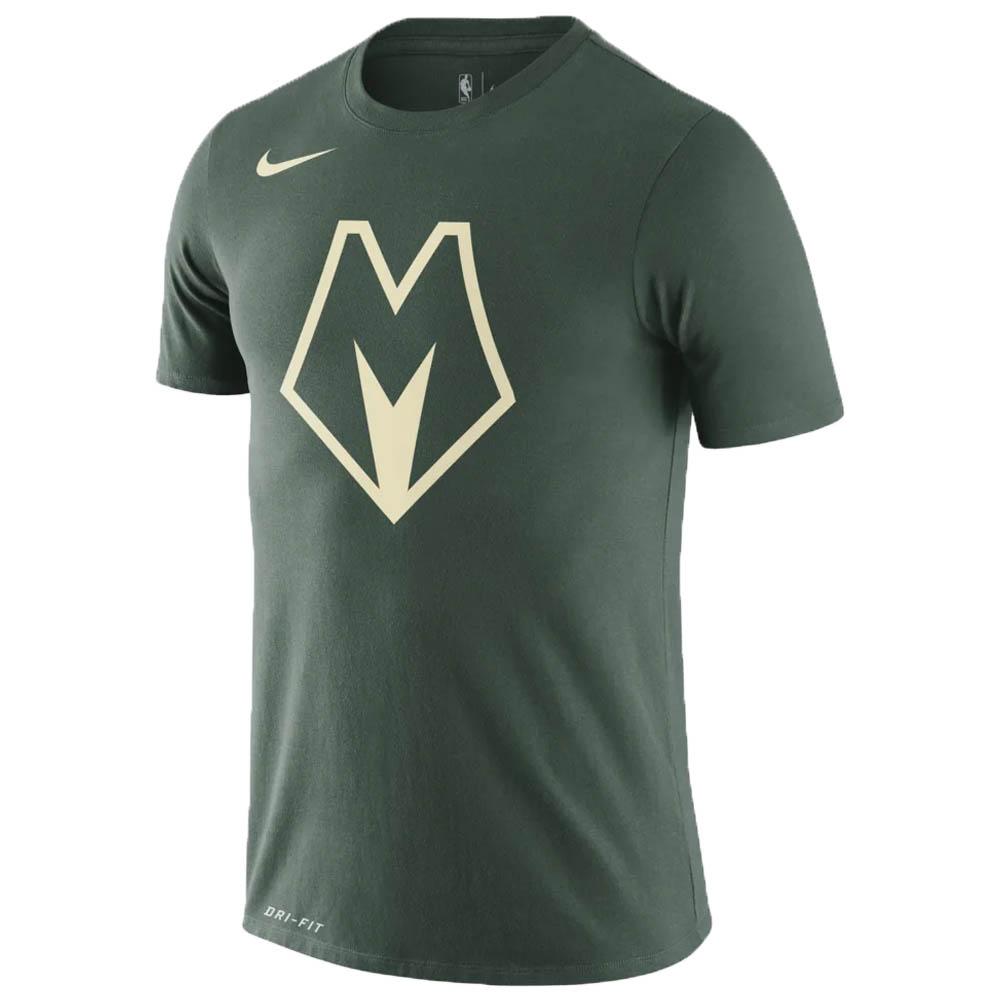 あす楽対応 人気アイテムのNIKE NBA アパレル バックス Tシャツ 実物 ナイキ MIL FNW LGO CE グリーン ナイキ NJP BV8917-323 トレーニング特集 期間限定お試し価格 Nike Tシャツ