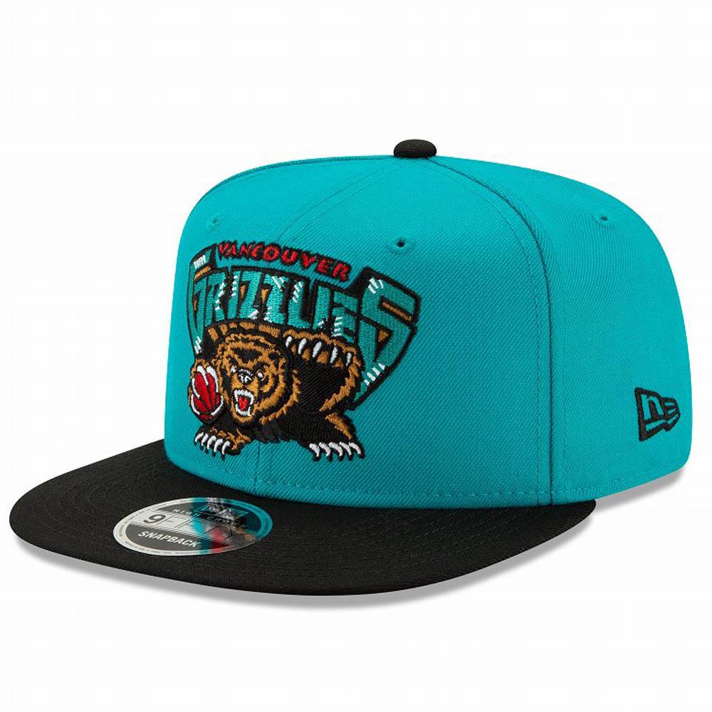 NBA メンフィス・グリズリーズ キャップ/帽子 ハードウッドクラシックス スナップバック アジャスタブル ニューエラ/New Era ターコイズ