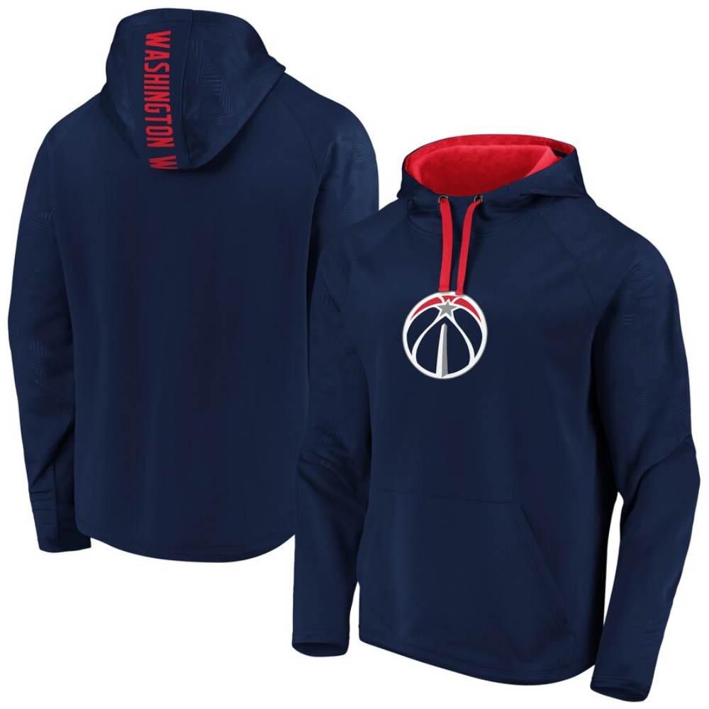 NBA ワシントン・ウィザーズ パーカー/フーディー ディフェンダー プライマリー ロゴ アイコン プルオーバー