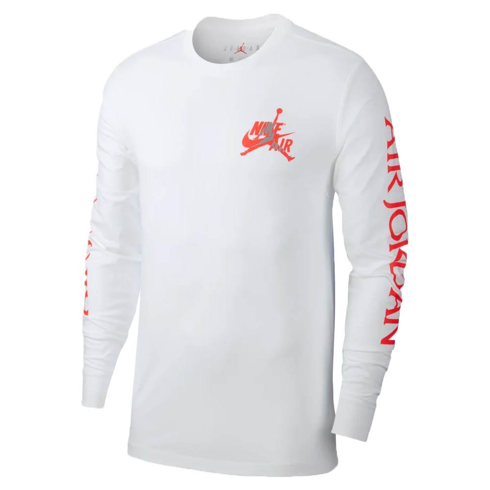 ナイキ ジョーダン/NIKE JORDAN Tシャツ ジョーダン クラシック ロングスリーブ ホワイト AT8897-101