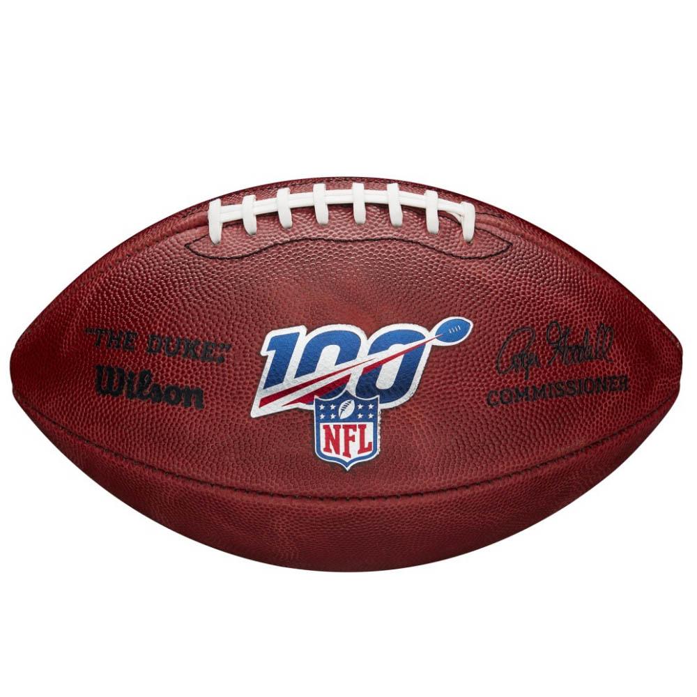 NFL 100周年ロゴ入り ボール Wilson