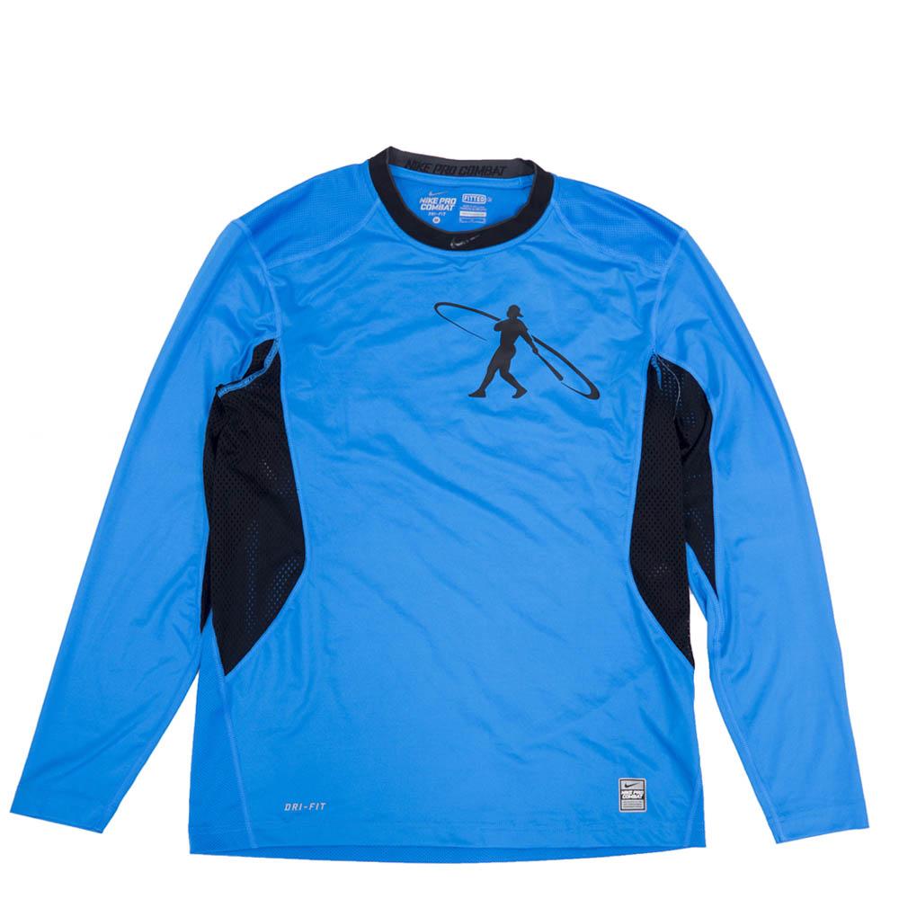 GRIFFEY ケン・グリフィーJR. Tシャツ スイングマン プロ コンバット ナイキ/Nike ブルー 578312-407
