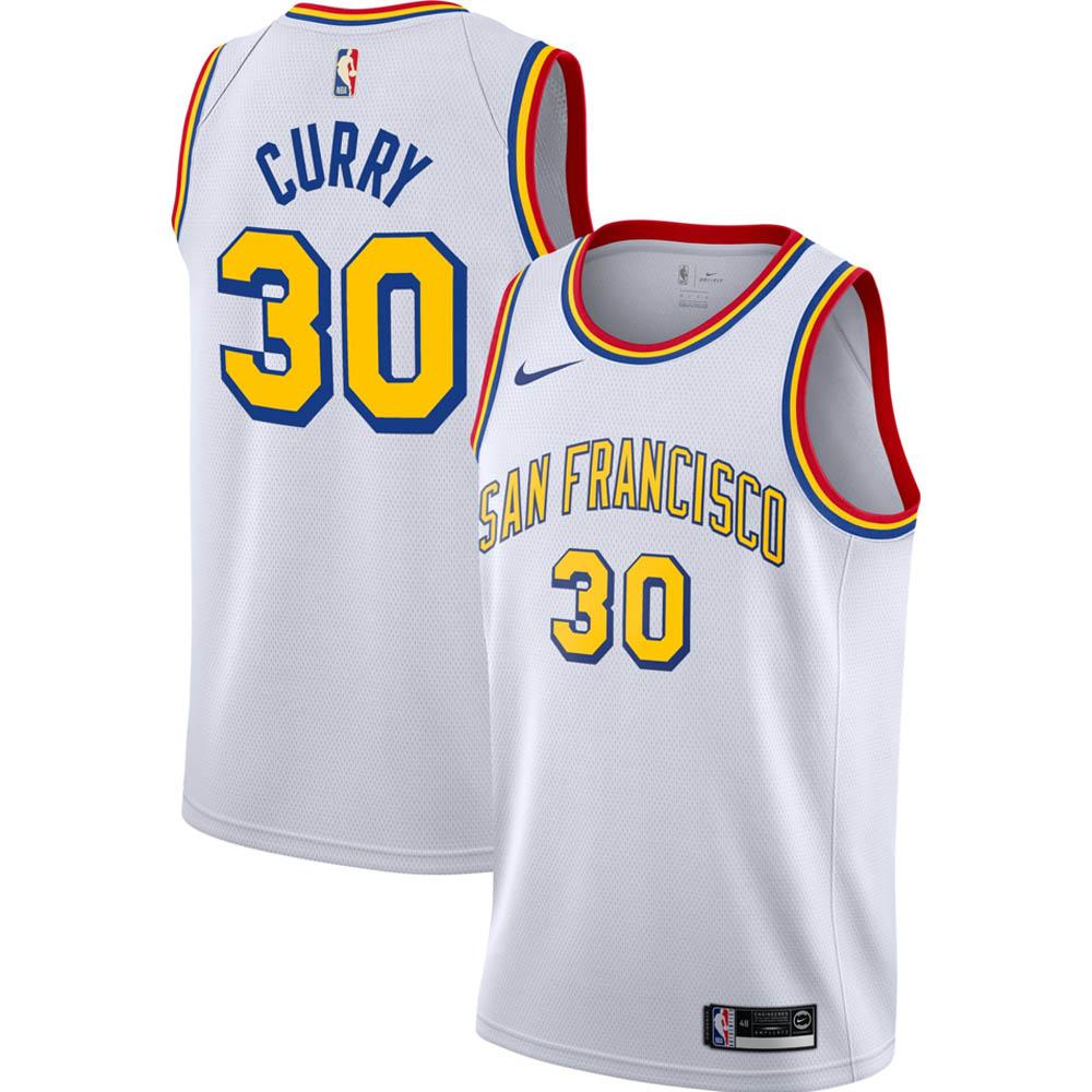 NBA ステファン・カリー ゴールデンステイト・ウォリアーズ ユニフォーム/ジャージ スウィングマン クラシック ナイキ/Nike ホワイト
