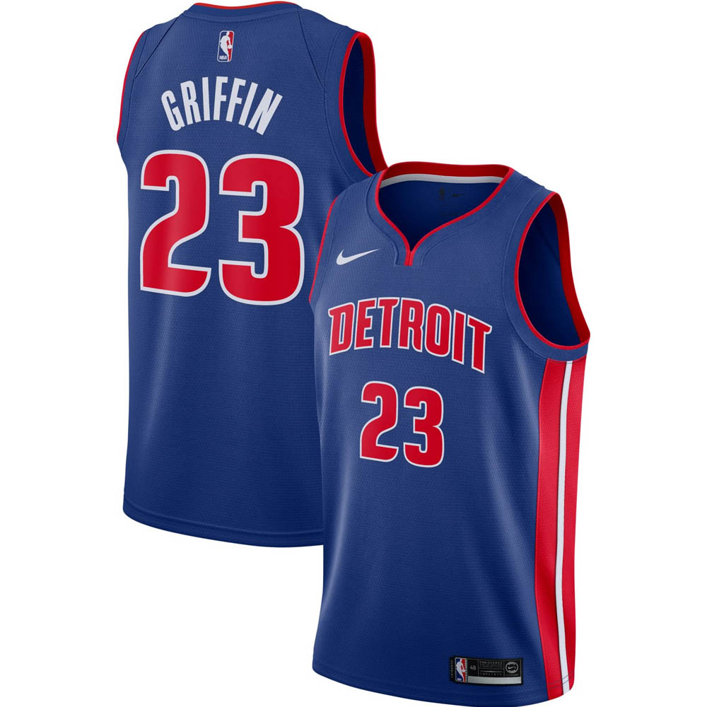 NBA ブレイク・グリフィン デトロイト・ピストンズ ユニフォーム/ジャージ アイコン エディション スウィングマン ナイキ/Nike ロイヤル