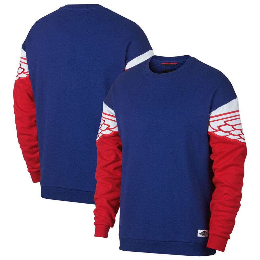 JORDAN スウェットシャツ/トレーナー Jordan Wings Classics Crew Sweat Shirt ロイヤル AO0426-455