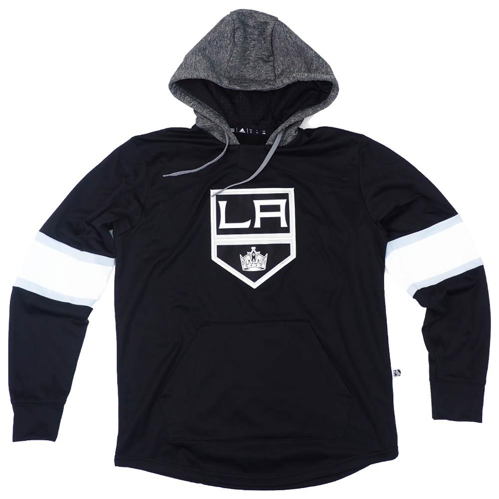 NHL キングス パーカー/フーディー オーセンティック プラチナム プルオーバー アディダス/Adidas ブラック