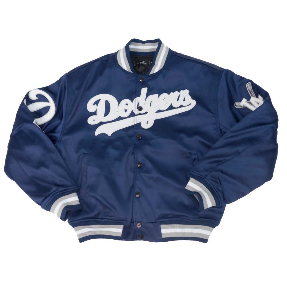 【リニューアル記念メガセール】MLB ロサンゼルス・ドジャース ジャケット/アウター WM PRO STANDARD ブルー