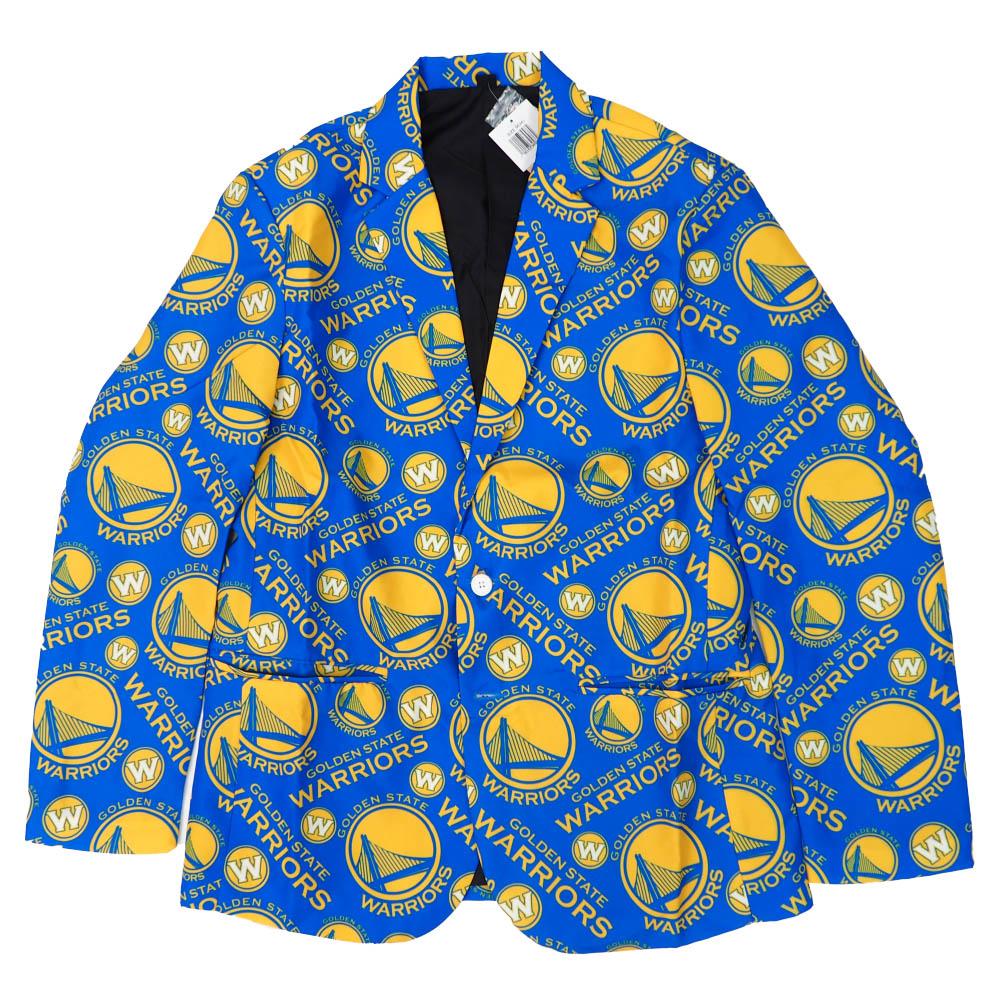 NBA ゴールデンステイト・ウォリアーズ ジャケット/アウター アグリー ビジネス Forever Collectables ロイヤル