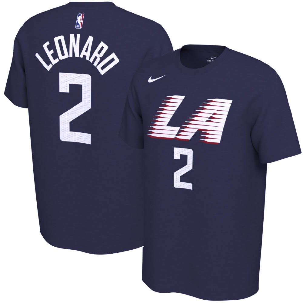 NBA カワイ・レナード ロサンゼルス・クリッパーズ Tシャツ シティ エディション ネーム & ナンバー ナイキ/Nike ネイビー 00038179XLP6