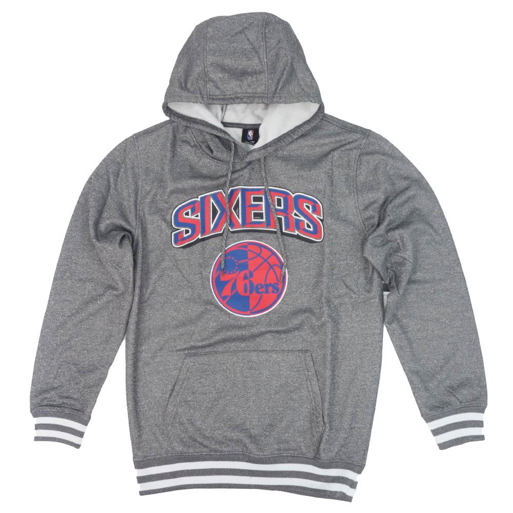 NBA フィラデルフィア・76ers パーカー/フーディー Focused Pullover Fleece Hoodie プルオーバー UNK グレー