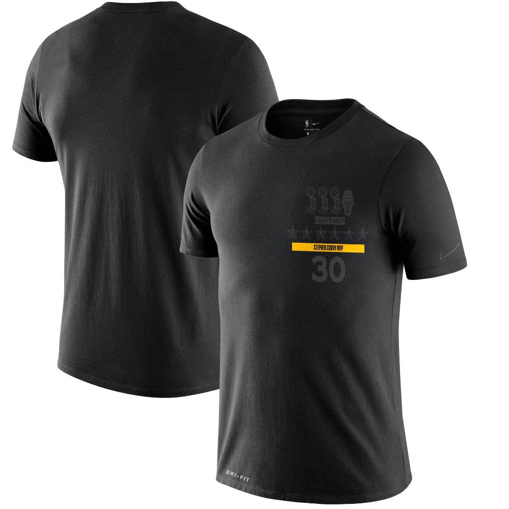 NBA ステファン・カリー ステフィン・カリー ゴールデンステイト・ウォリアーズ Tシャツ MVP T-Shirt ナイキ/Nike ブラック