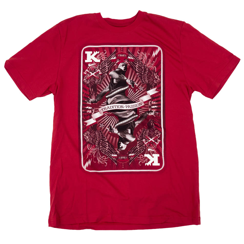 LEBRON レブロン・ジェームズ Tシャツ LeBron King Card T-Shirt ナイキ/Nike レッド 406102-611