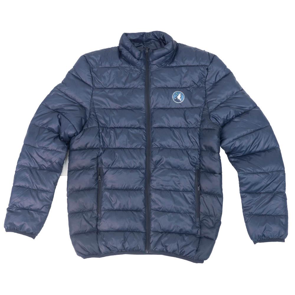 NBA ミネソタ・ティンバーウルブズ ジャケット/アウター Polyester Filled Puffer Jacket Fanatics Branded ネイビー