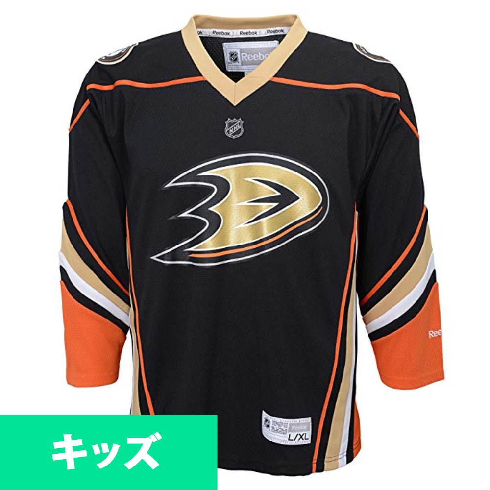 NHL ダックス ユニフォーム/ジャージ ユース レプリカ リーボック/Reebok オルタネート ブラック