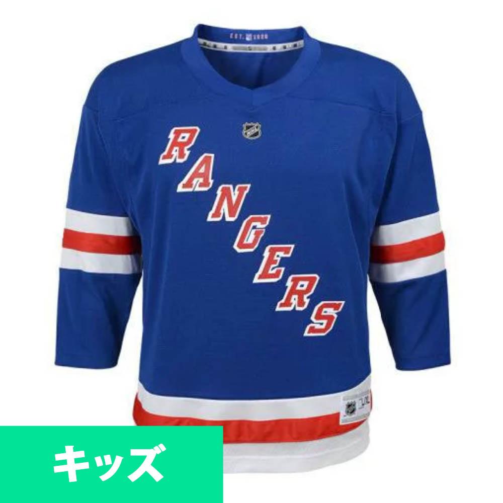 NHL レンジャース ユニフォーム/ジャージ ユース レプリカ リーボック/Reebok ホーム ロイヤル