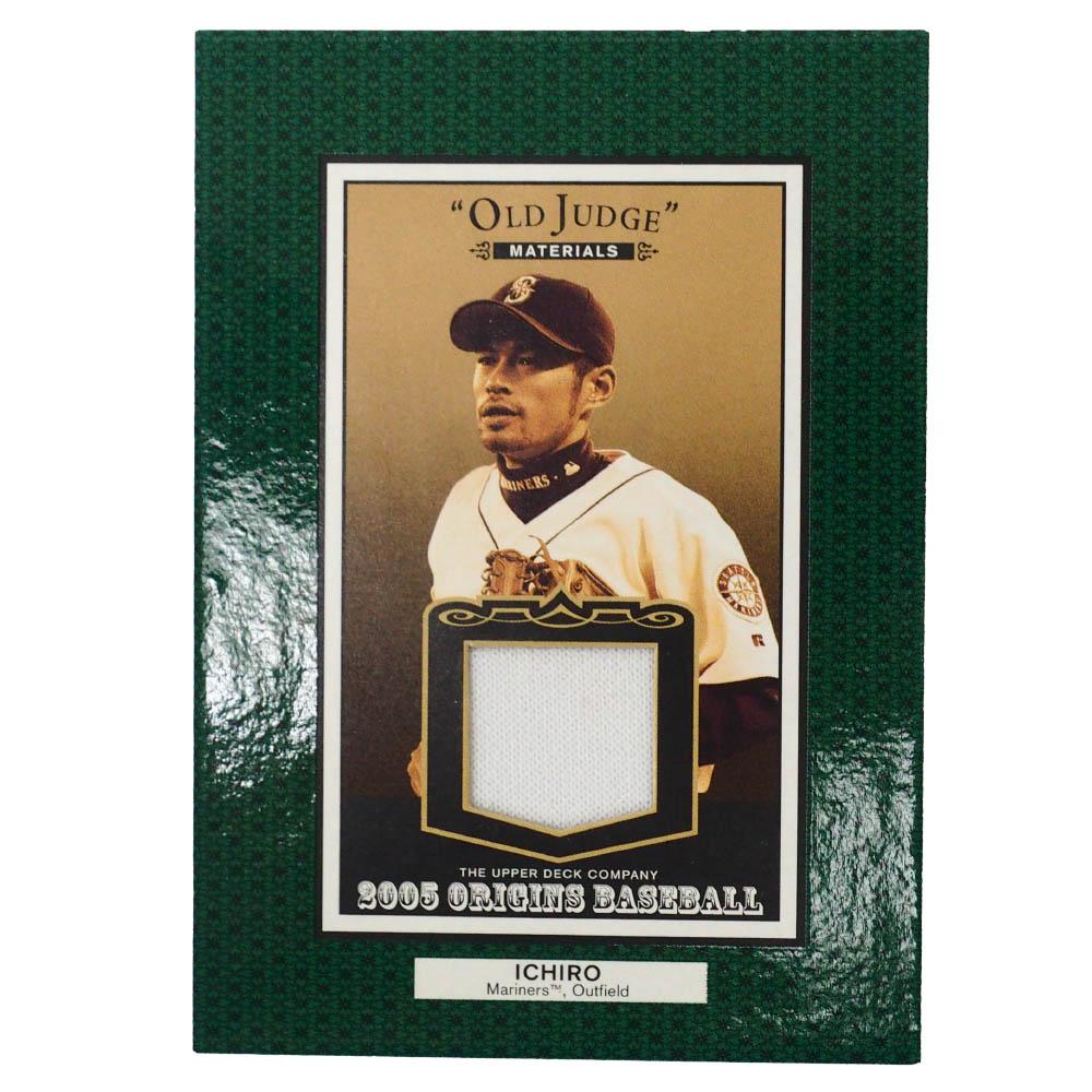 MLB イチロー シアトル・マリナーズ トレーディングカード/スポーツカード 2005 #OJ-IS ゲーム ジャージ Upper Deck