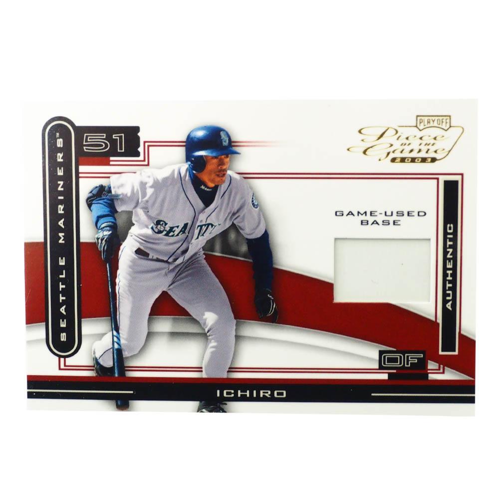 MLB イチロー シアトル・マリナーズ トレーディングカード/スポーツカード 2003 #POG-40 ユーズド ベース Playoff