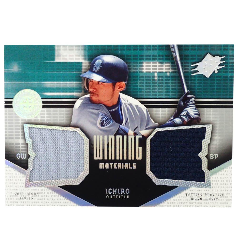 MLB イチロー シアトル・マリナーズ トレーディングカード/スポーツカード 2004 #VM-IS Wジャージ グレー ネイビー Upper Deck
