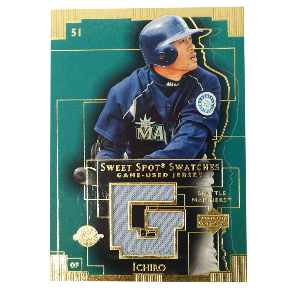 MLB イチロー シアトル・マリナーズ トレーディングカード/スポーツカード 2003 #IS ユーズド ジャージ Upper Deck