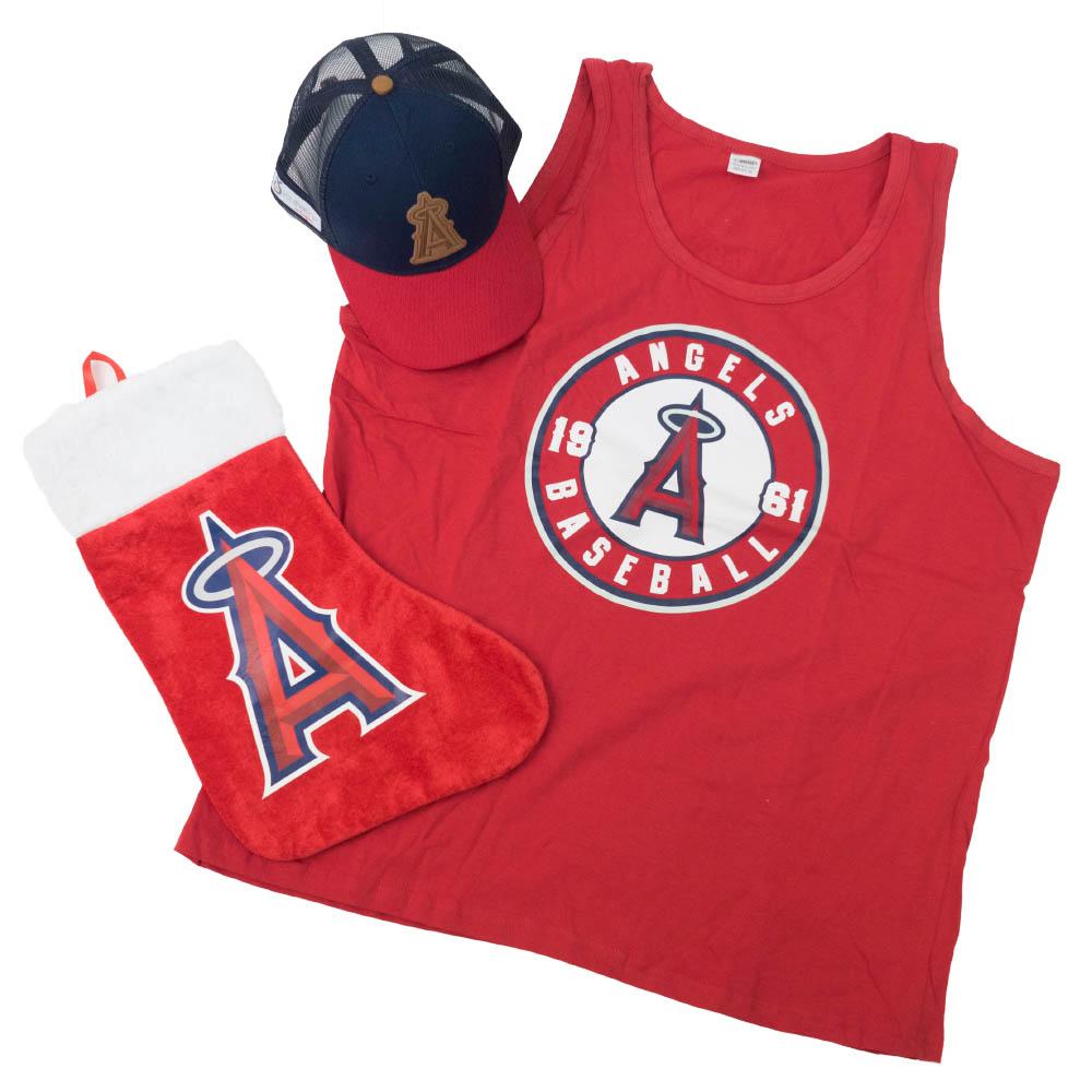 大谷翔平選手所属 MLB ロサンゼルス・エンゼルス Angels Stadium Give Aways Set 球場配布セット SGA レッド