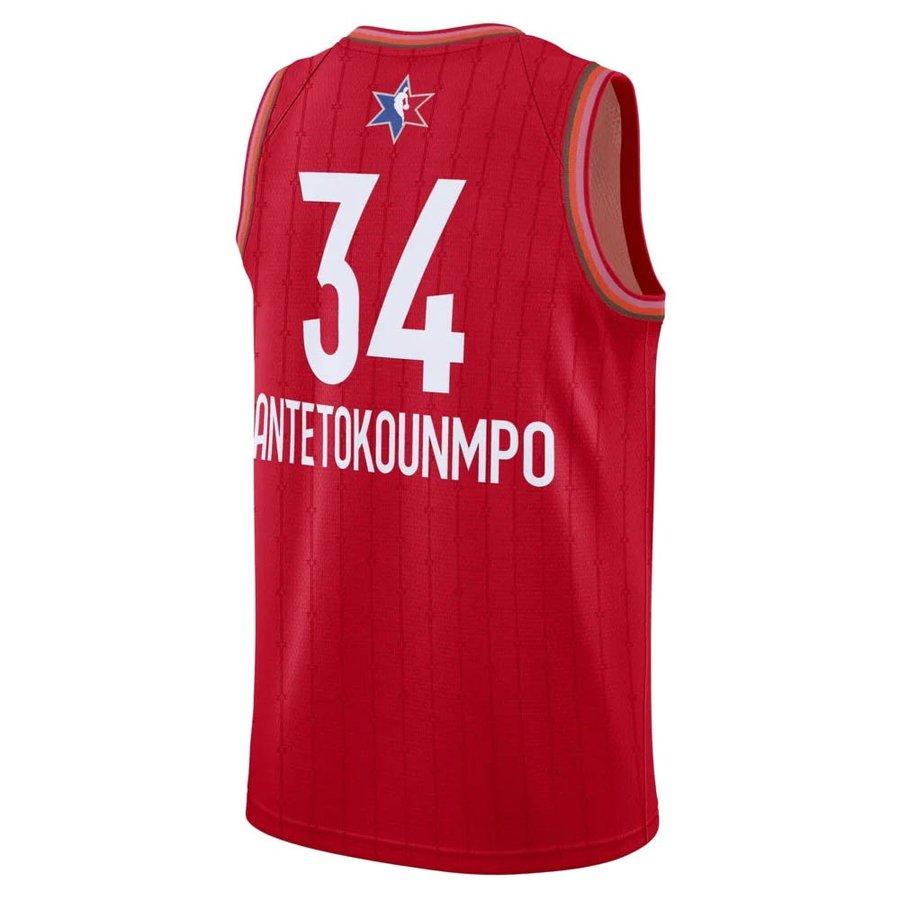 【リニューアル記念メガセール2】NBA ヤニス・アデトクンボ ユニフォーム/ジャージ 2020 オールスターゲーム スウィングマン Jersey ナイキ/Nike レッド CJ1063-662