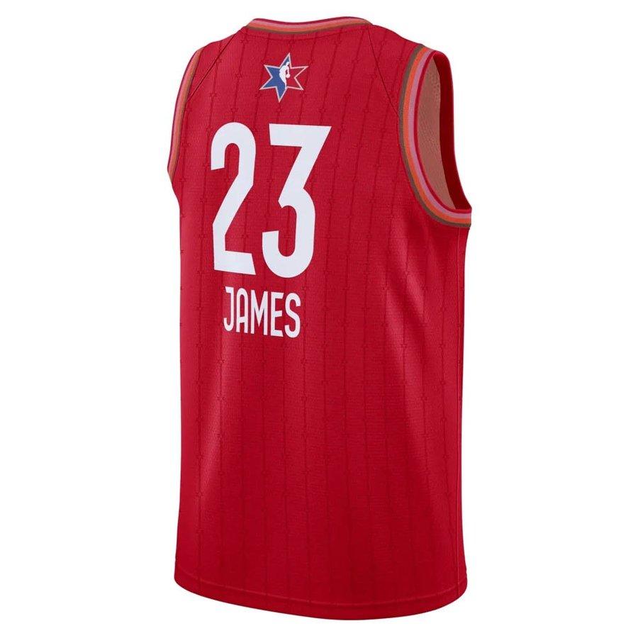【リニューアル記念メガセール2】NBA レブロン・ジェームズ ユニフォーム/ジャージ 2020 オールスターゲーム スウィングマン Jersey ナイキ/Nike レッド CJ1063-657