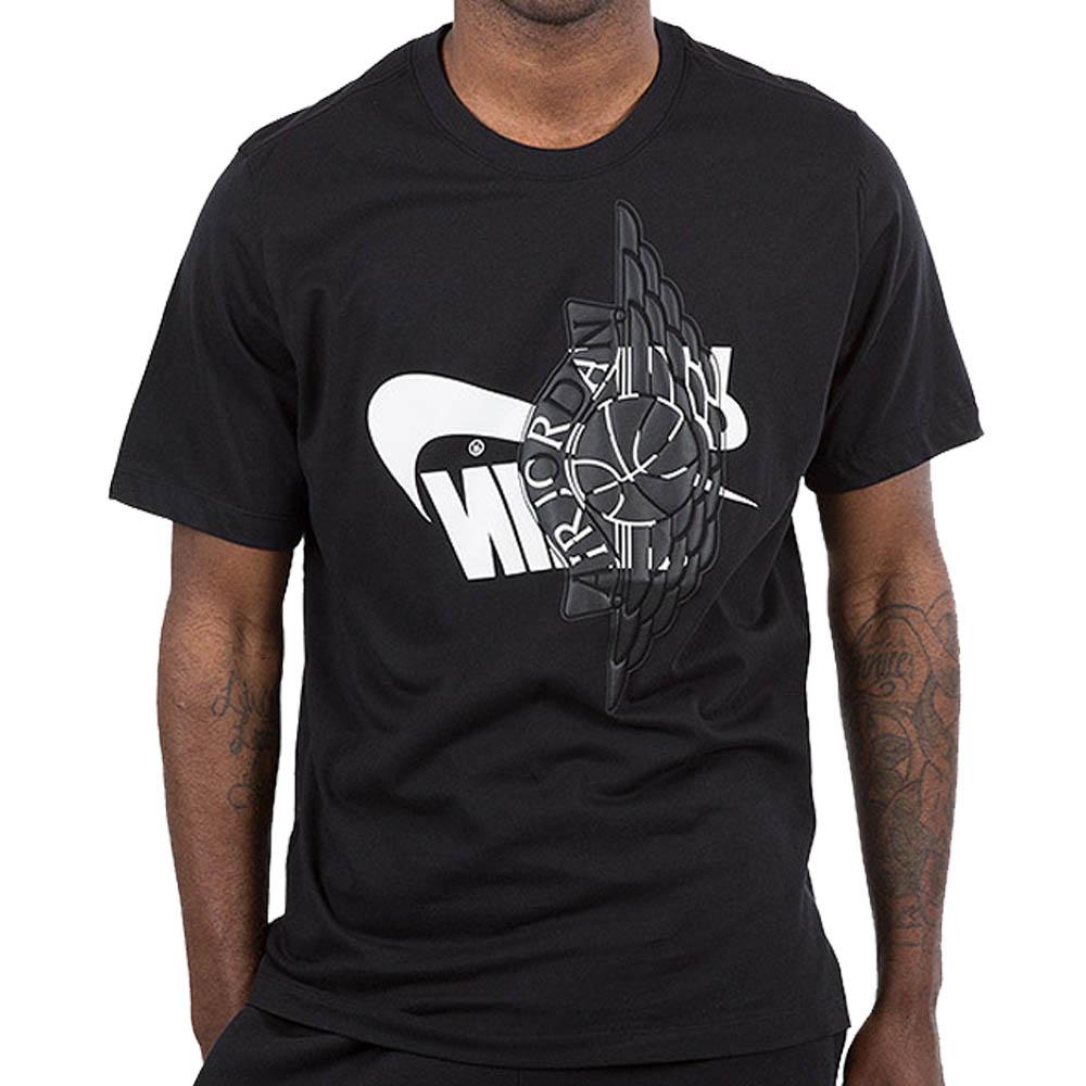 ジョーダン/JORDAN JORDAN Tシャツ ジョーダン フューチュラ ウィングス ブラック/ホワイト