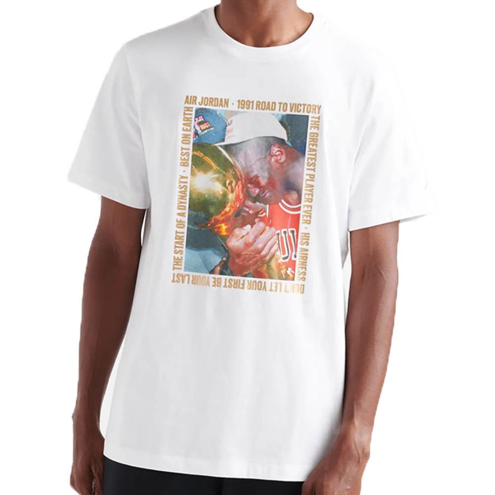 ジョーダン/JORDAN JORDAN Tシャツ リマスタード チャンピオン フォト ホワイト