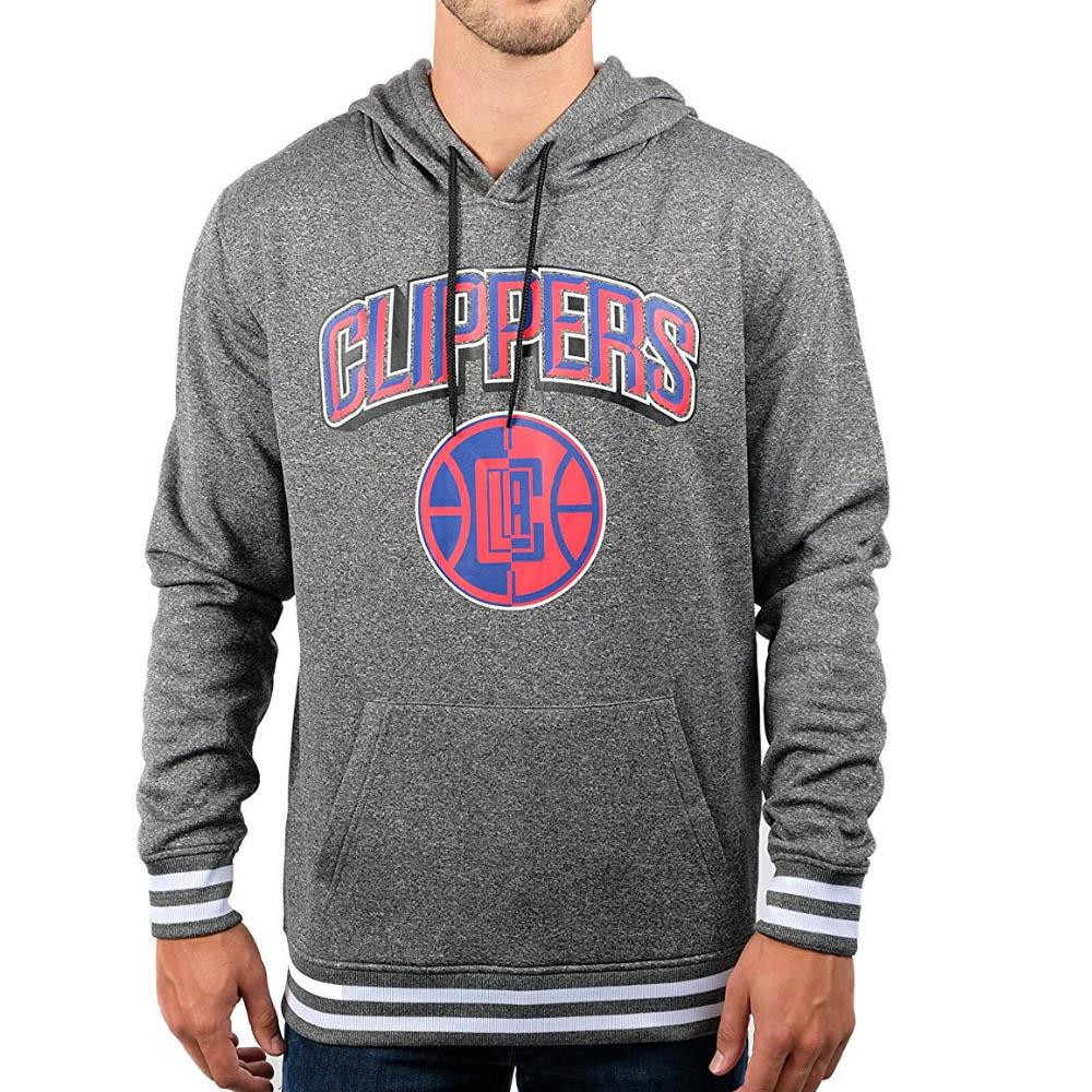 NBA ロサンゼルス・クリッパーズ パーカー/フーディー Focused Pullover Fleece Hoodie プルオーバー UNK グレー