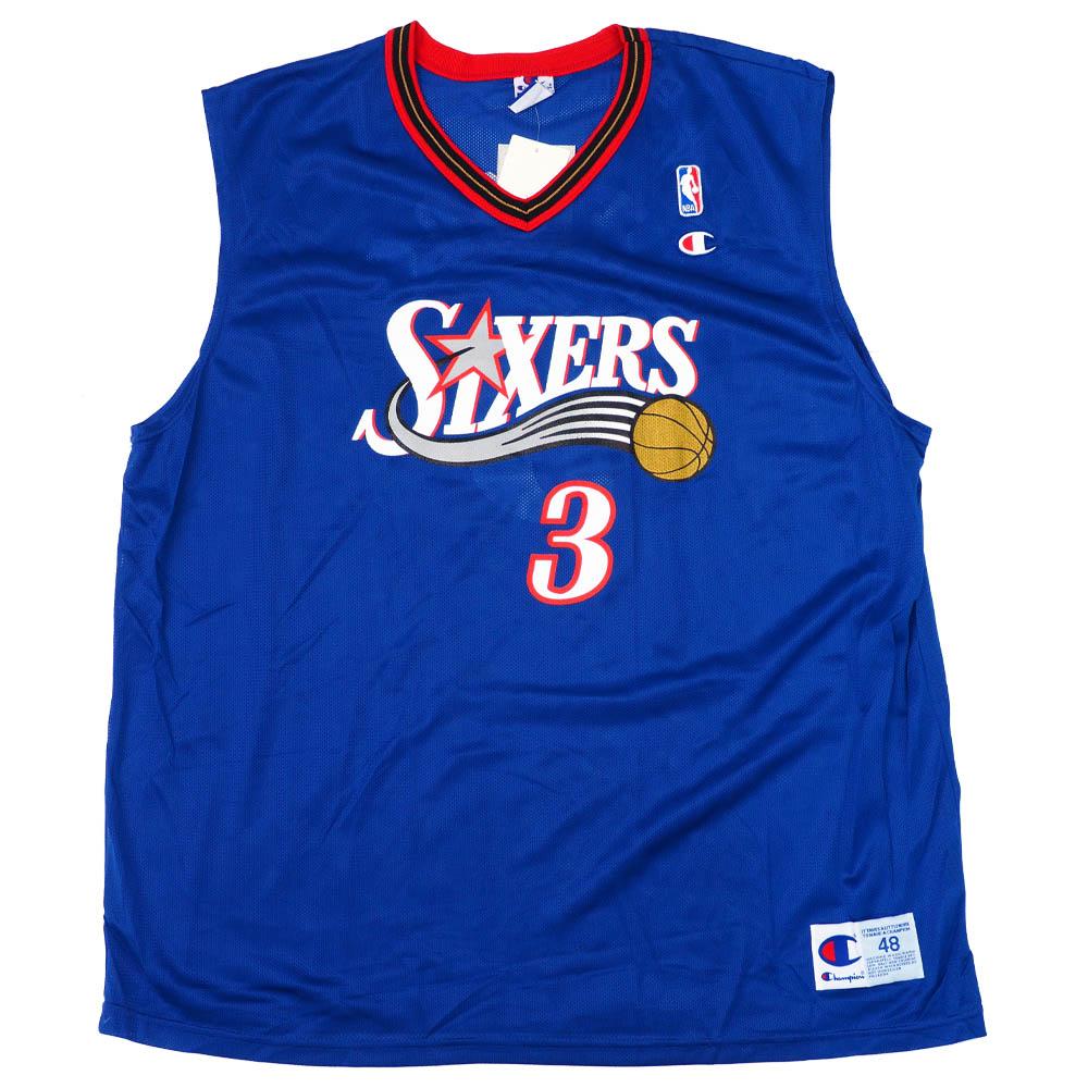 NBA アレン・アイバーソン フィラデルフィア・76ers ユニフォーム/ジャージ レプリカ チャンピオン/Champion オルタネート