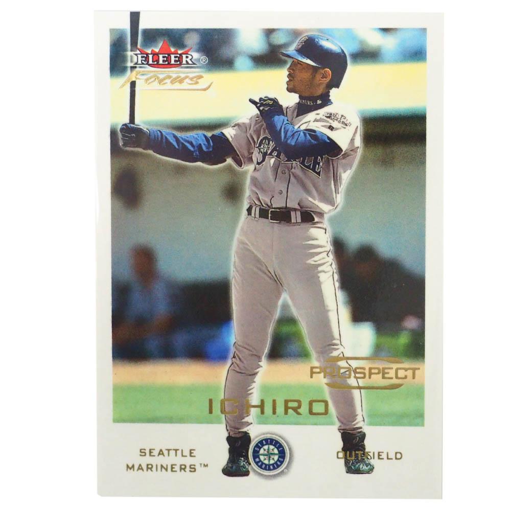 MLB イチロー シアトル・マリナーズ トレーディングカード/スポーツカード 2001 Rookie Ichiro #247 414/999 Fleer