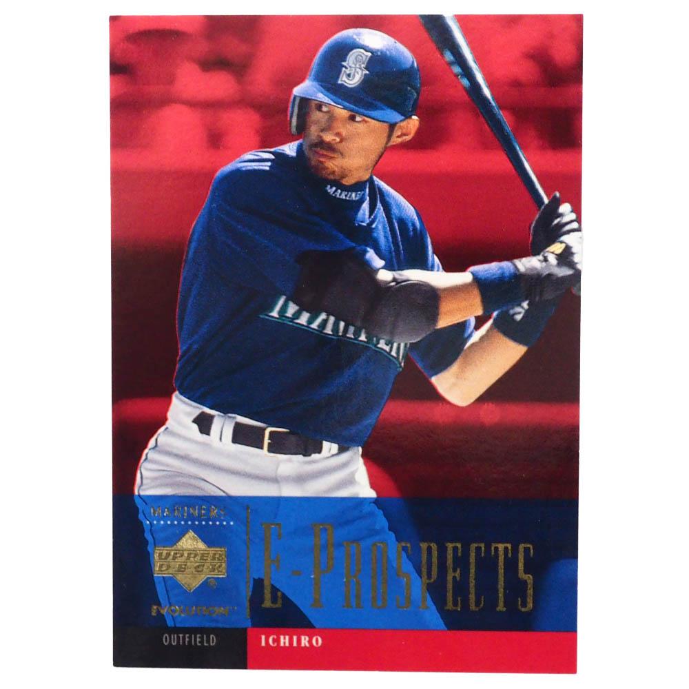 MLB イチロー シアトル・マリナーズ トレーディングカード/スポーツカード 2001 Rookie Ichiro #91 1278/2250 Upper Deck