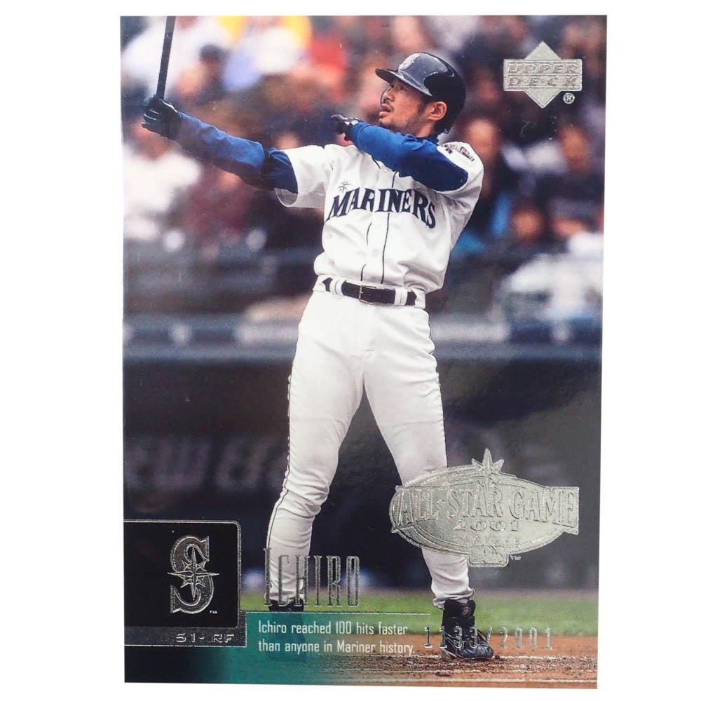 MLB イチロー シアトル・マリナーズ トレーディングカード/スポーツカード 2001 Rookie Ichiro #UD51 Silver 1331/2001 Upper Deck