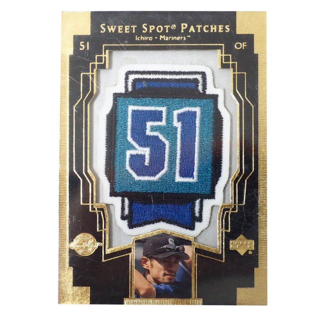 MLB イチロー シアトル・マリナーズ トレーディングカード/スポーツカード 2003 Ichiro #IS1 Patches Upper Deck