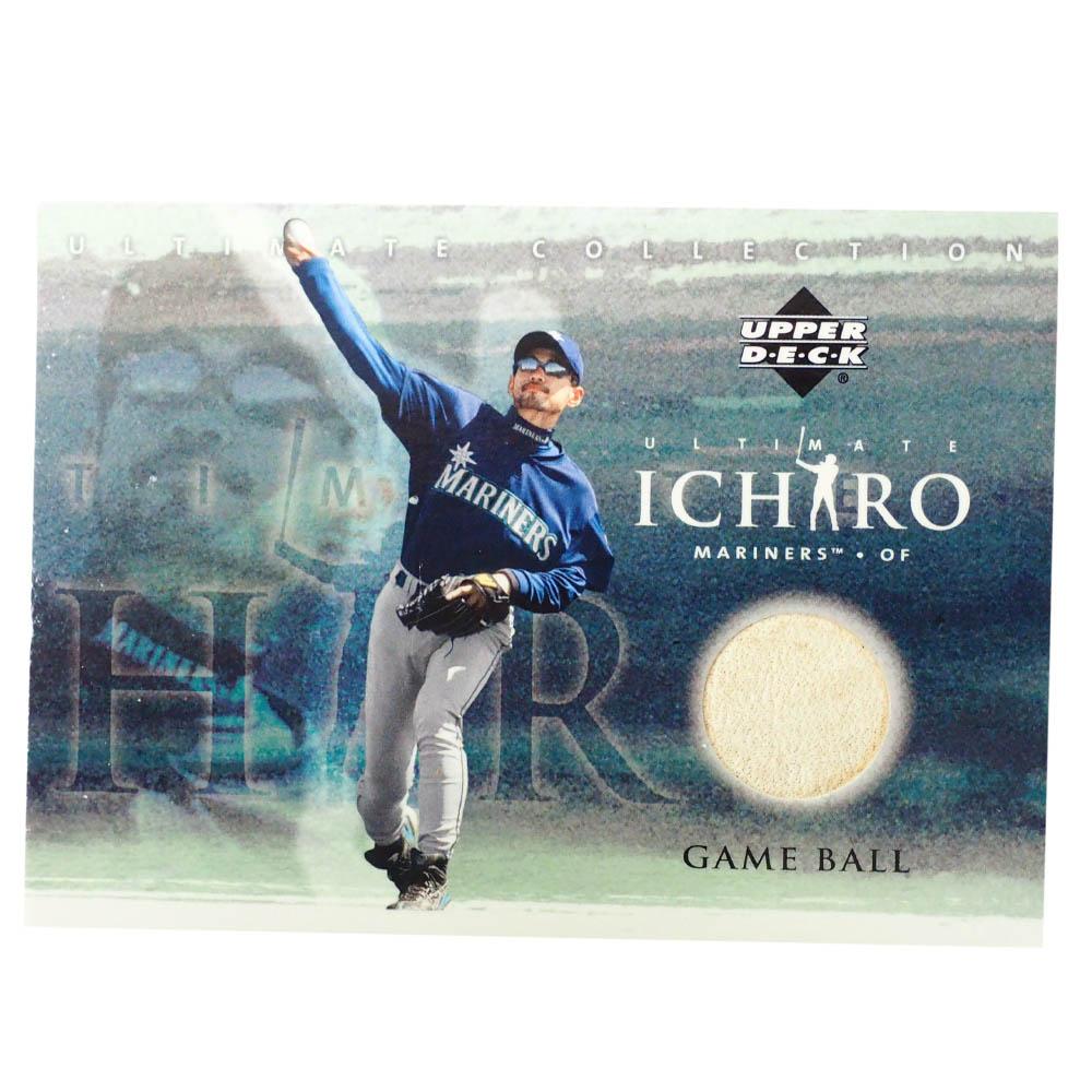MLB イチロー シアトル・マリナーズ トレーディングカード/スポーツカード 2001 Rookie Ichiro #BB-I Game Ball Upper Deck