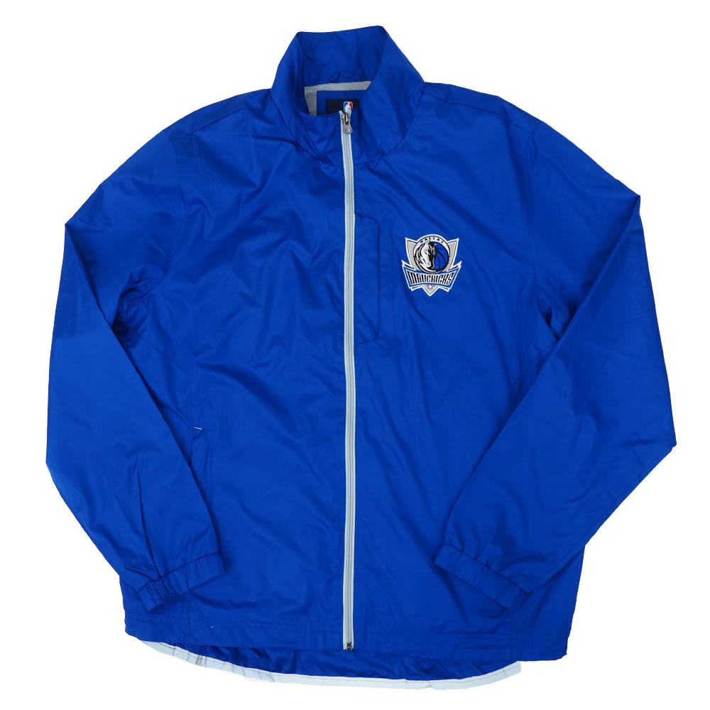 NBA ダラス・マーベリックス ジャケット/アウター Windbreaker Full-Zip Jacket G-III ブルー