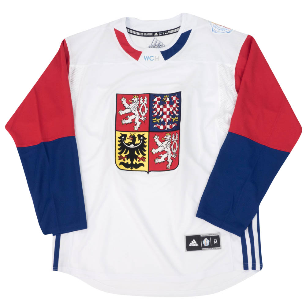 NHL チェコ代表 ユニフォーム/ジャージ 2016 ワールドカップ オブ ホッケー プレミア チーム アディダス/Adidas ホワイト