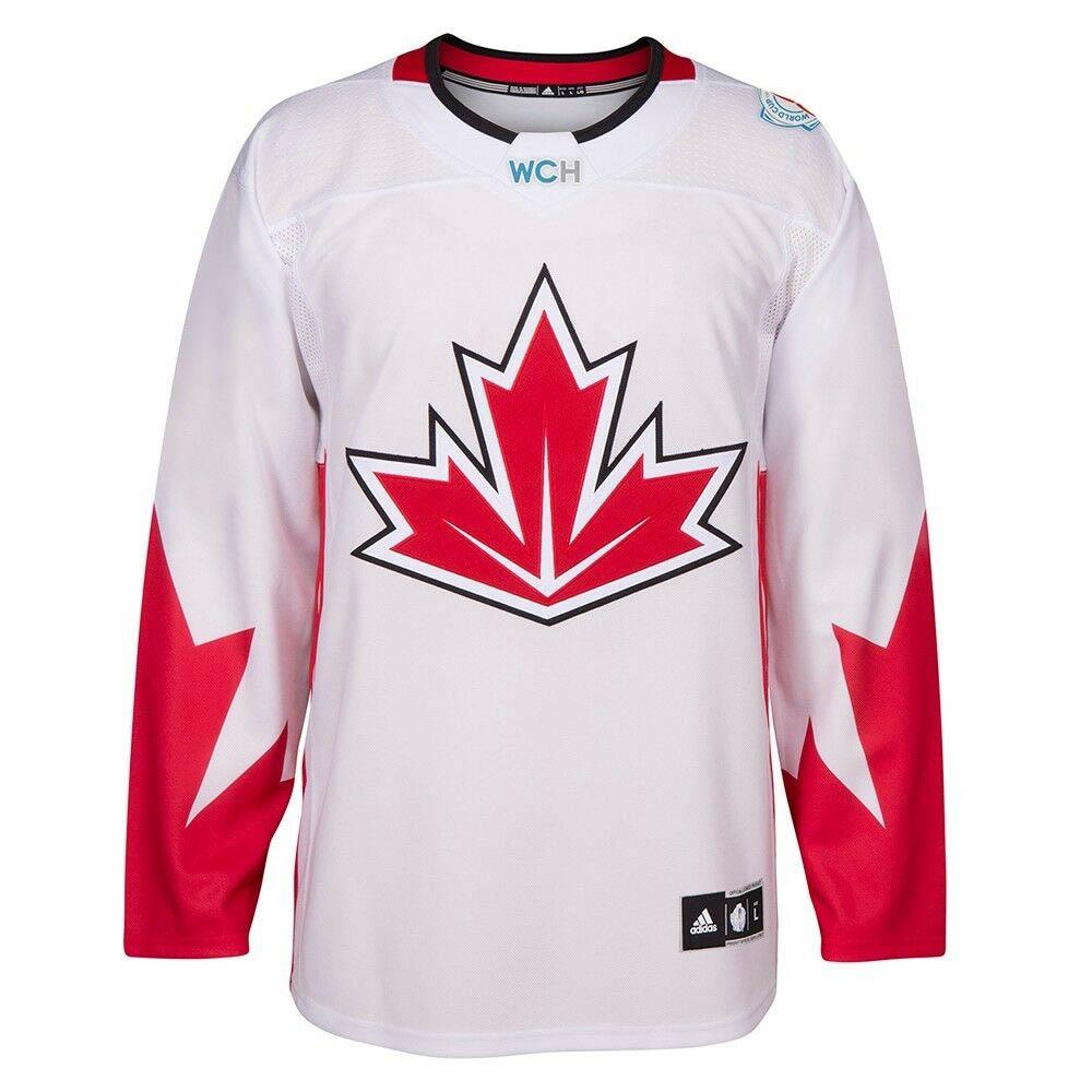 NHL カナダ代表 ユニフォーム/ジャージ 2016 ワールドカップ オブ ホッケー プレミア チーム アディダス/Adidas ホワイト