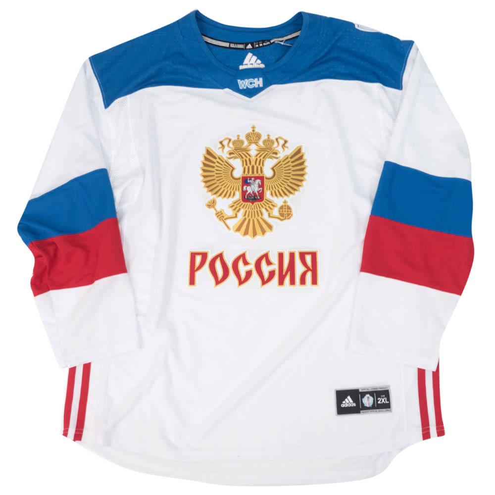 NHL ロシア代表 ユニフォーム/ジャージ 2016 ワールドカップ オブ ホッケー プレミア チーム アディダス/Adidas ホワイト
