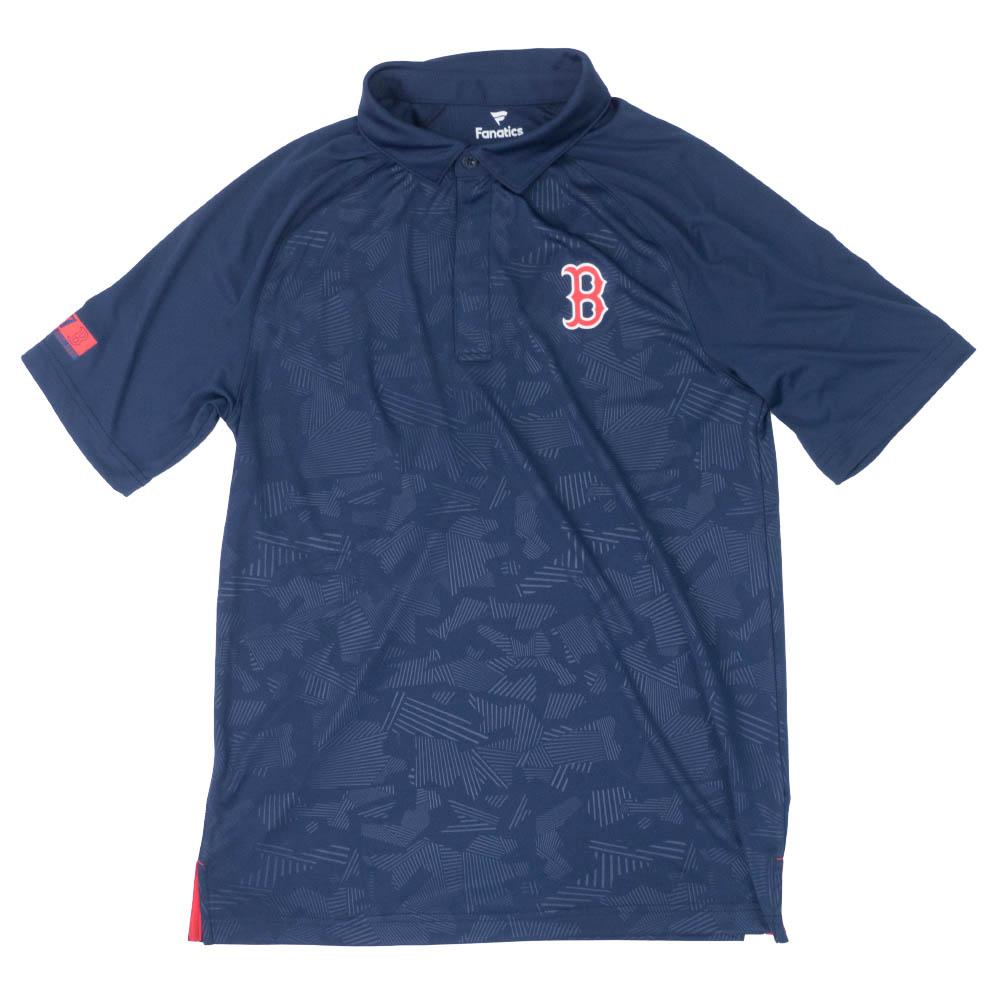 MLB ボストン・レッドソックス アイコニック ディフェンダー ポロシャツ ネイビー