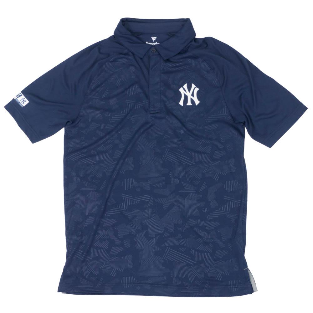 MLB ニューヨーク・ヤンキース アイコニック ディフェンダー ポロシャツ ネイビー