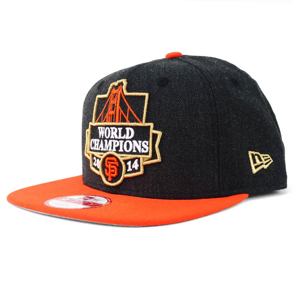 MLB サンフランシスコ・ジャイアンツ キャップ/帽子 3x ワールドシリーズ チャンピオン 9FIFTY スナップバック ニューエラ/New Era