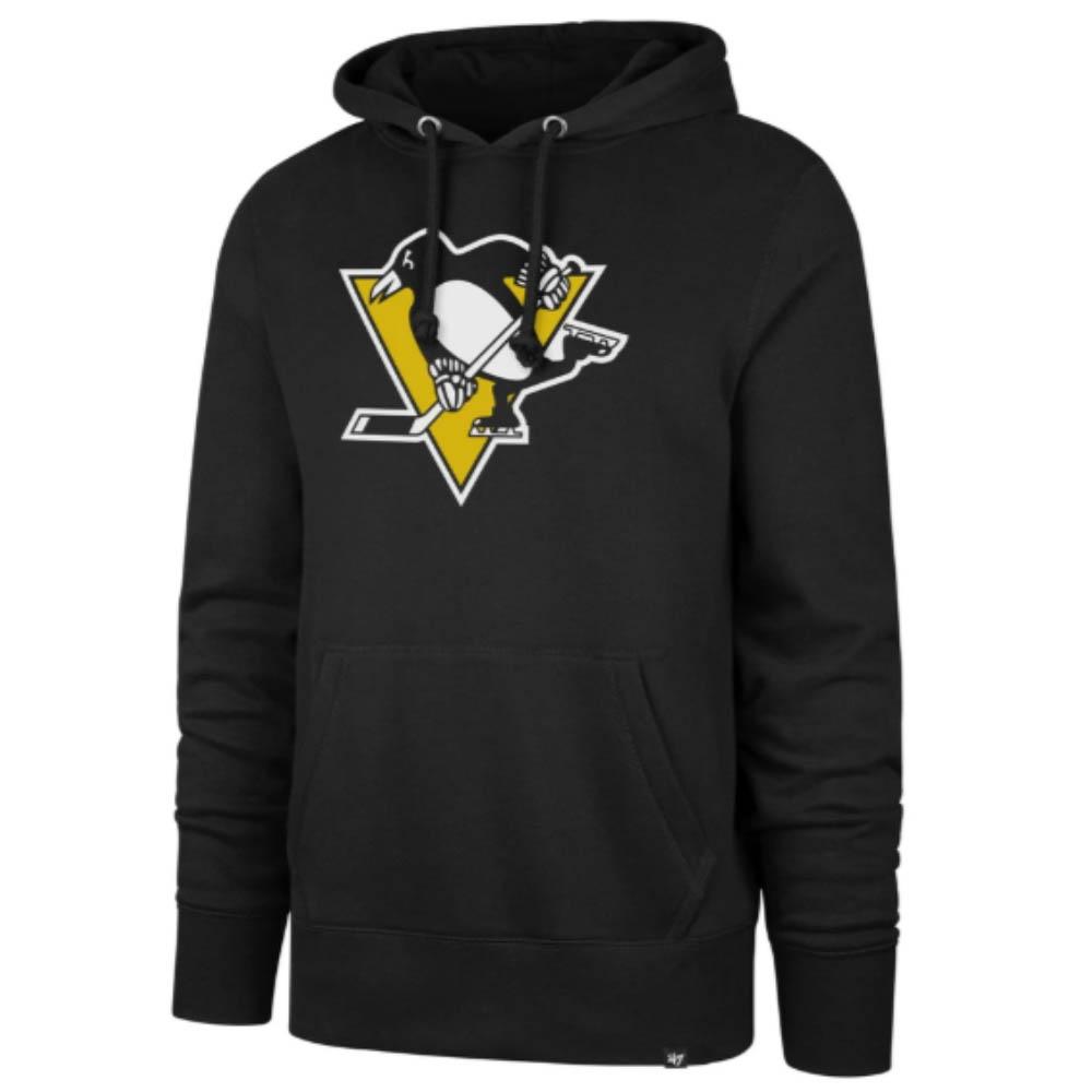 NHL ペンギンズ パーカー/フーディー Imprint Headline Hoody 47 Brand ブラック