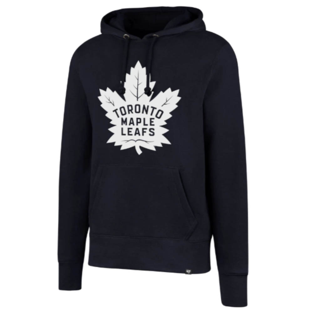 NHL メープルリーフス パーカー/フーディー Imprint Headline Hoody 47 Brand ネイビー