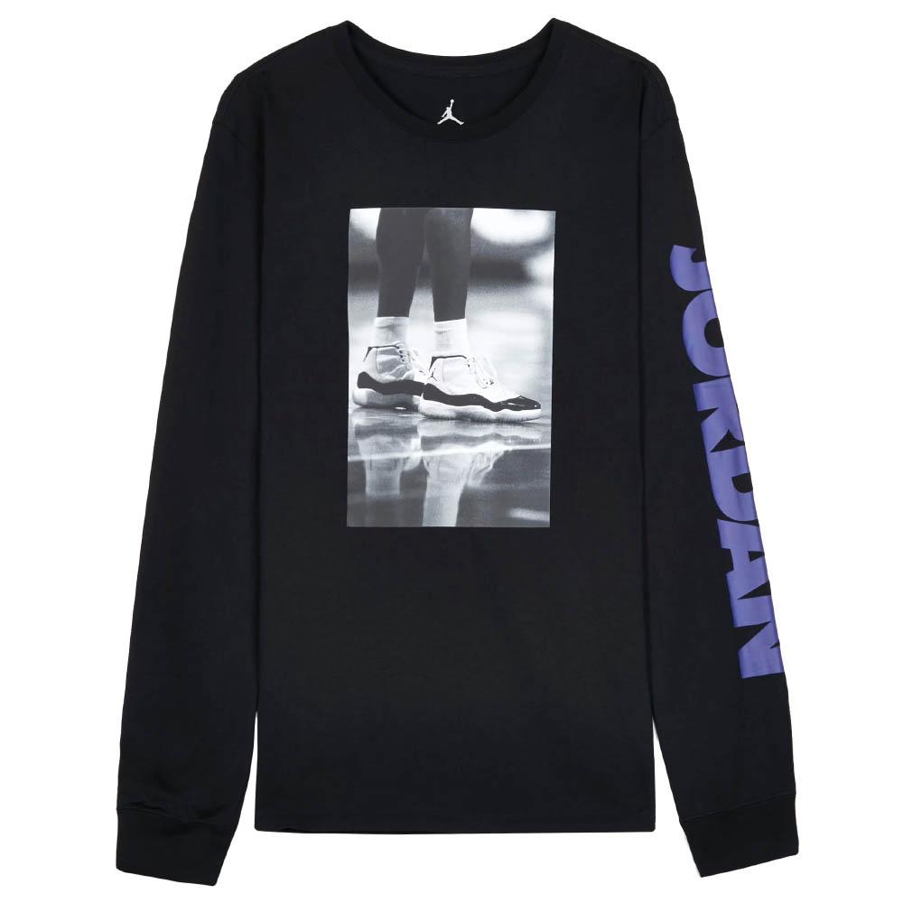 JORDAN/ジョーダン Tシャツ Jordan Retro 11 Legacy Photo L/S T-Shirt ブラック