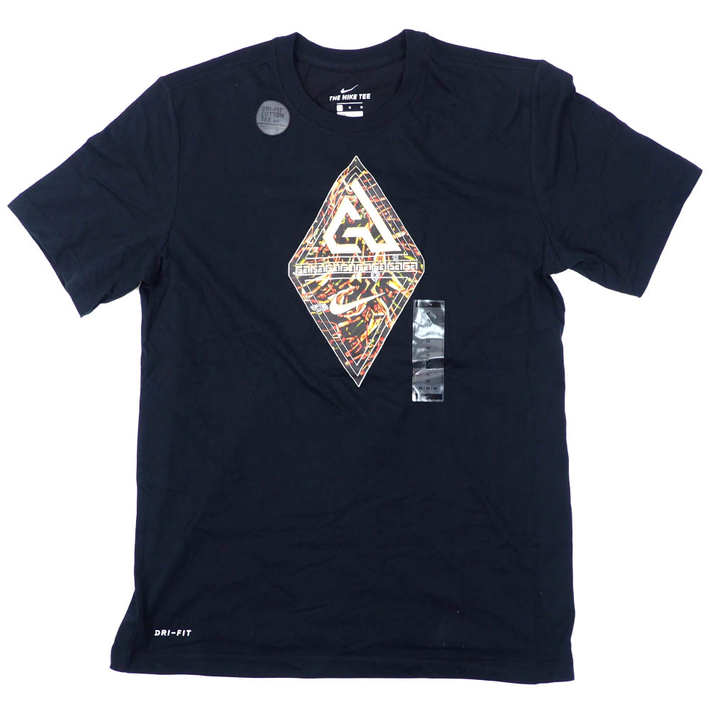 Greak Freak ヤニス・アデトクンボ Tシャツ Giannis Logo T-Shirt ナイキ/Nike ブラック BV8267-010