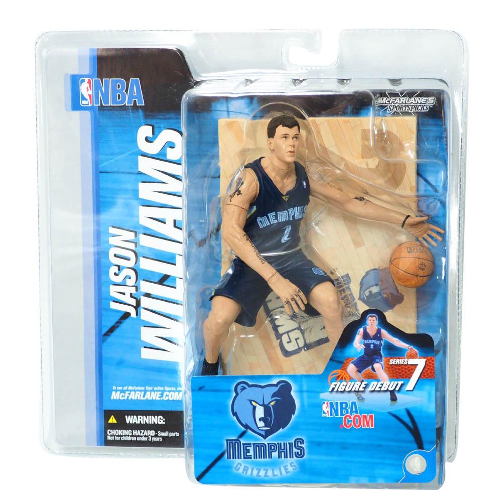 NBA ジェイソン・ウィリアムス メンフィス・グリズリーズ フィギュア シリーズ 7 フィギュア McFarlane