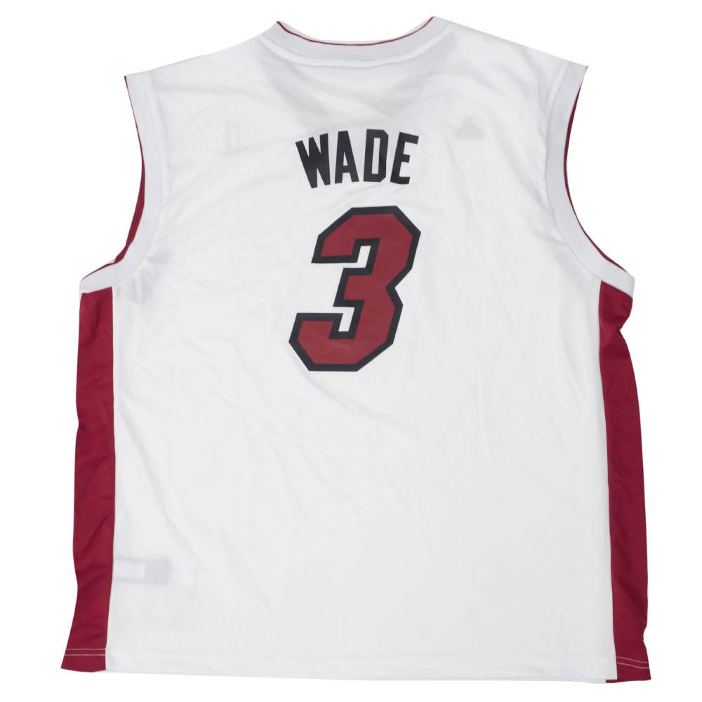NBA ドウェイン・ウェイド マイアミ・ヒート ユニフォーム/ジャージ Replica Jersey アディダス/Adidas ホーム